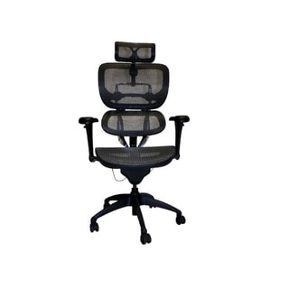 Like Ergohuman Black/ Dark Grey Hi Swivel Mesh Executive Chair