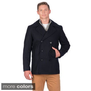 Nautica Men's Wool Blend Peacoat