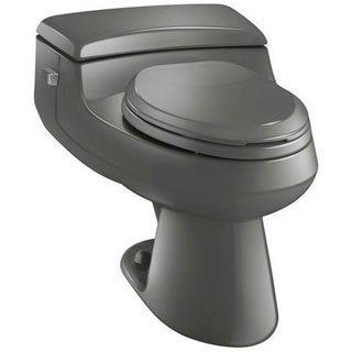 Kohler San Raphael Thunder Grey 1-piece Elongated Toilet