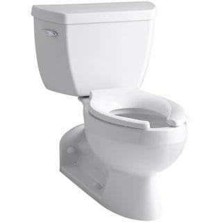 Kohler Barrington White 2-piece 1 GPF Elongated Toilet
