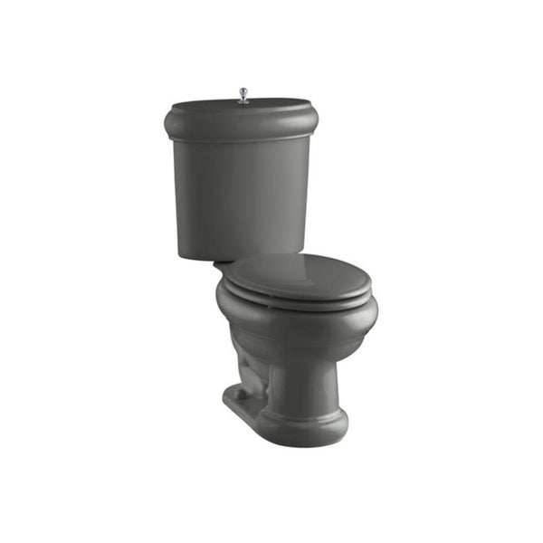 Revival Two-piece Thunder Grey Elongated Toilet