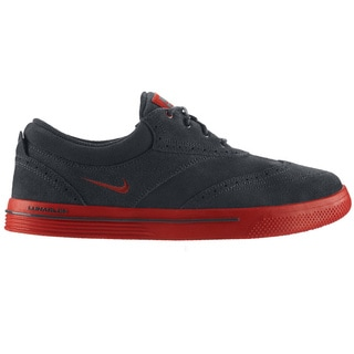 NIKE Men's Lunar Swingtip Suede Anthracite/Brickhouse Golf Shoes