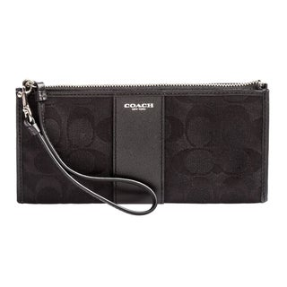 Coach Box Legacy Signature Zippy - Black/Silver