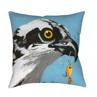 Thumbprintz You Silly Bird Senior Throw Pillow or Floor Pillow