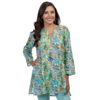 Women's Multicolor Floral Tunic (India)