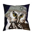 Thumbprintz You Silly Bird Liz Throw Pillow or Floor Pillow