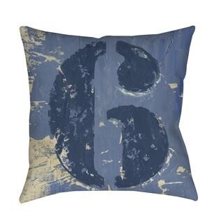 Thumbprintz Vintage Numbers VI Throw Pillow or Floor Pillow