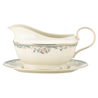 Lenox Spring Vista DW Sauce Boat and Stand