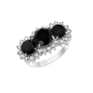 Ring with 5.43ct TW Diamonds in 14K White Gold