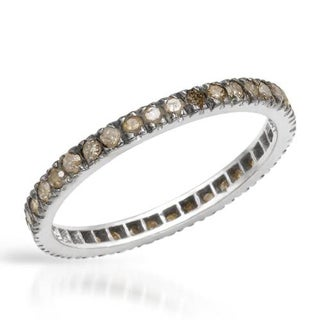 Eternity Ring with 0.57ct TW Diamonds in 925 Sterling Silver