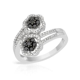 Ring with 0.50ct TW Diamonds in 14K White Gold