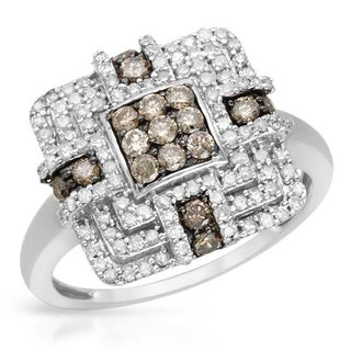 Ring with 0.75ct TW Diamonds Yellow Gold
