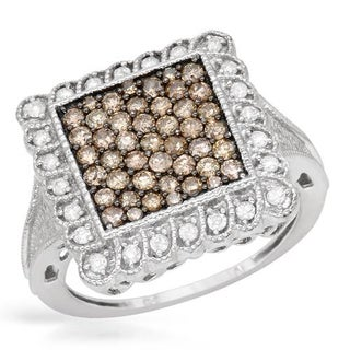 Ring with 1.00ct TW Diamonds White Gold
