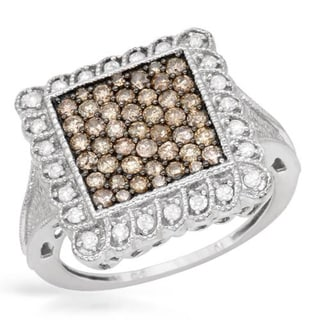 Ring with 1ct TW Diamonds White Gold