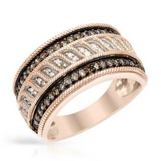 Ring with 0 1/2ct TW Diamonds in Rose Gold