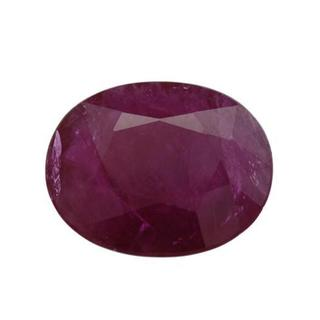 Genuine Mozambique Ruby 4.8ct Oval-cut 12 x 10 mm
