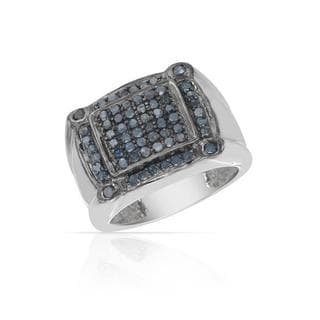 Ring with Diamonds .925 Sterling Silver