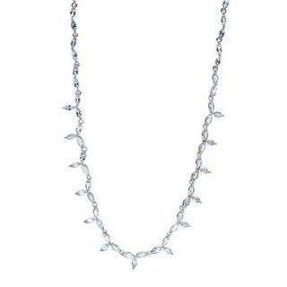 Sterling Silver 21ct TGW Topaz Necklace