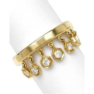 Pre-owned Piaget 18k Yellow Gold 1/2ct TDW Diamond Ring (G-H, SI1-SI2)