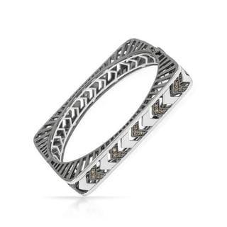 Yours by Loren 3.78-carat TW Topaz 0.925 Sterling Silver Bracelet