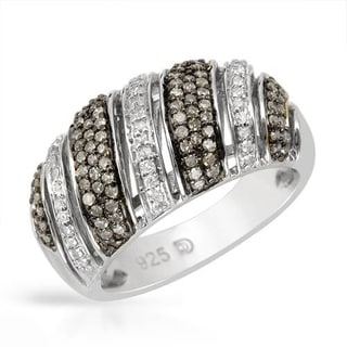 Ring with 0 3/4ct TW Diamonds in .925 Sterling Silver