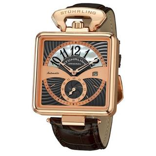 Men's 146A.334K54 Brown Leather Watch
