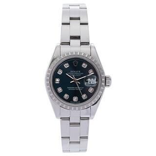 Pre-Owned Rolex Women's 79174 Diamond Stainless Steel Watch