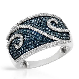 Ring with 1.00ct TW Diamonds in White Gold