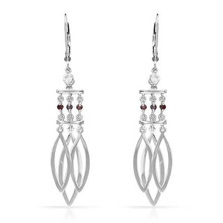Earrings with Diamonds White Gold
