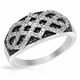 Ring with Diamonds White Gold