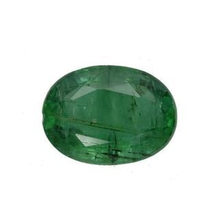 Genuine Brazilian Emerald 2.64ct TW Oval-cut 10.5 x 8mm