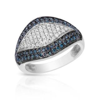Ring with 0.6ct TW Diamonds in 925 Sterling Silver