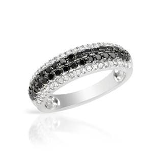 Ring with 0.91ct TW Diamonds of 14K White Gold