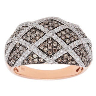 Ring with 1 1/2ct TW Diamonds in 14K Rose Gold