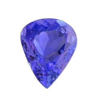Genuine Tanzanite 2.52ct Pear-cut 8 x 10mm