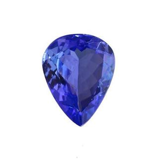 Genuine Tanzanite 1.8ct Pear-cut 7.5 x 9.5mm