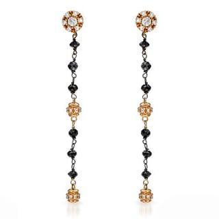 Favero 18K Two-tone Gold 5ct TW Diamonds Earrings