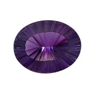 Amethyst 73.15ct TW Fancy-cut 34 x 27mm Loose Stone