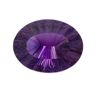 Amethyst 59.23ct TW Fancy-cut 33 x 25mm Loose Stone