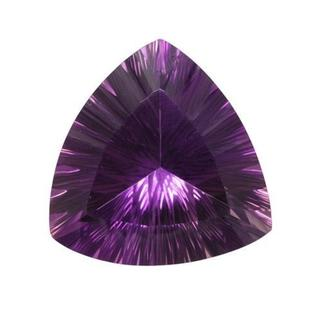 Amethyst 60.44ct TW Fancy-cut 29 x 30mm Loose Stone