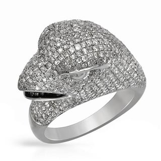 Ring with 2.42ct TW Diamonds Crafted in 925 Sterling Silver