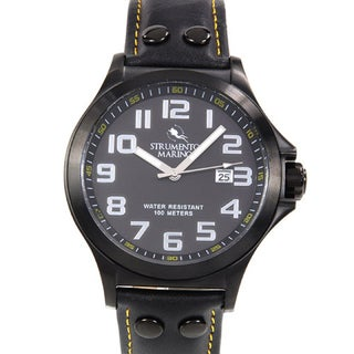 Harbour Men's SM046RBK/BK Black Stainless Steel Watch