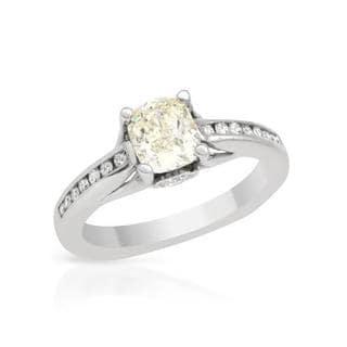 14k White Gold 1.35ct TDW Diamond Engagement Ring