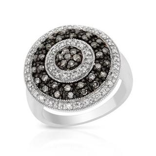 Ring with 0.75ct TW Diamonds in 925 Sterling Silver