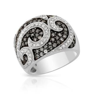 Ring with 1.00ct TW Diamonds in 925 Sterling Silver