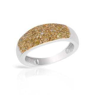 Ring with 0.50ct TW Diamonds 925 Sterling Silver
