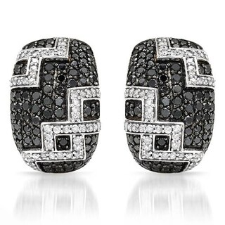 Earrings with 2ct TW Diamonds in White Gold