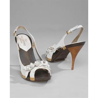 Women's White Leather Shoes