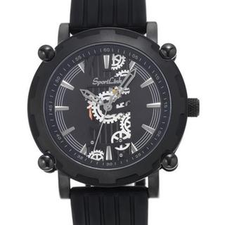 Men's LEGEND Black Rubber Watch