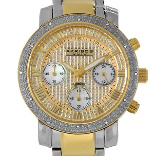 Women's AK440YG Two-tone Stainless Steel Chronograph Watch